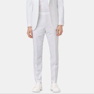 "HUGO BOSS - Men's ""Nolin/Pirko2"" Slim Fit Trousers in White"